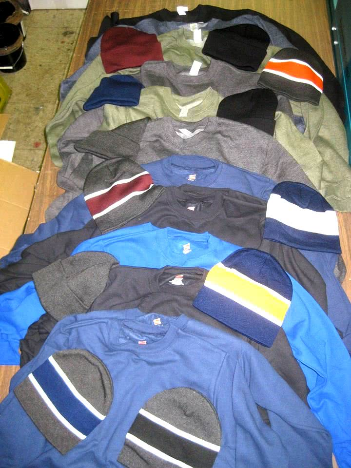 Winter Clothing Donations